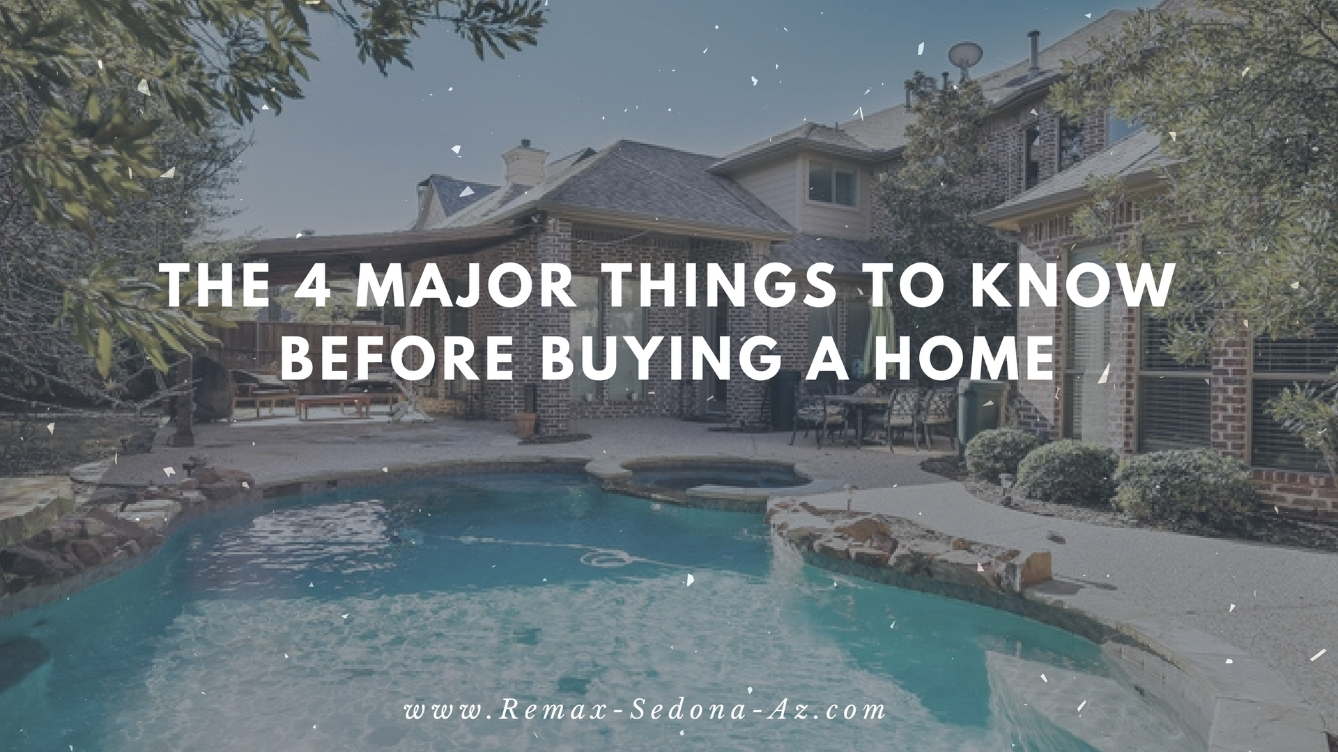 The 4 Things to KNow Before Buying a House