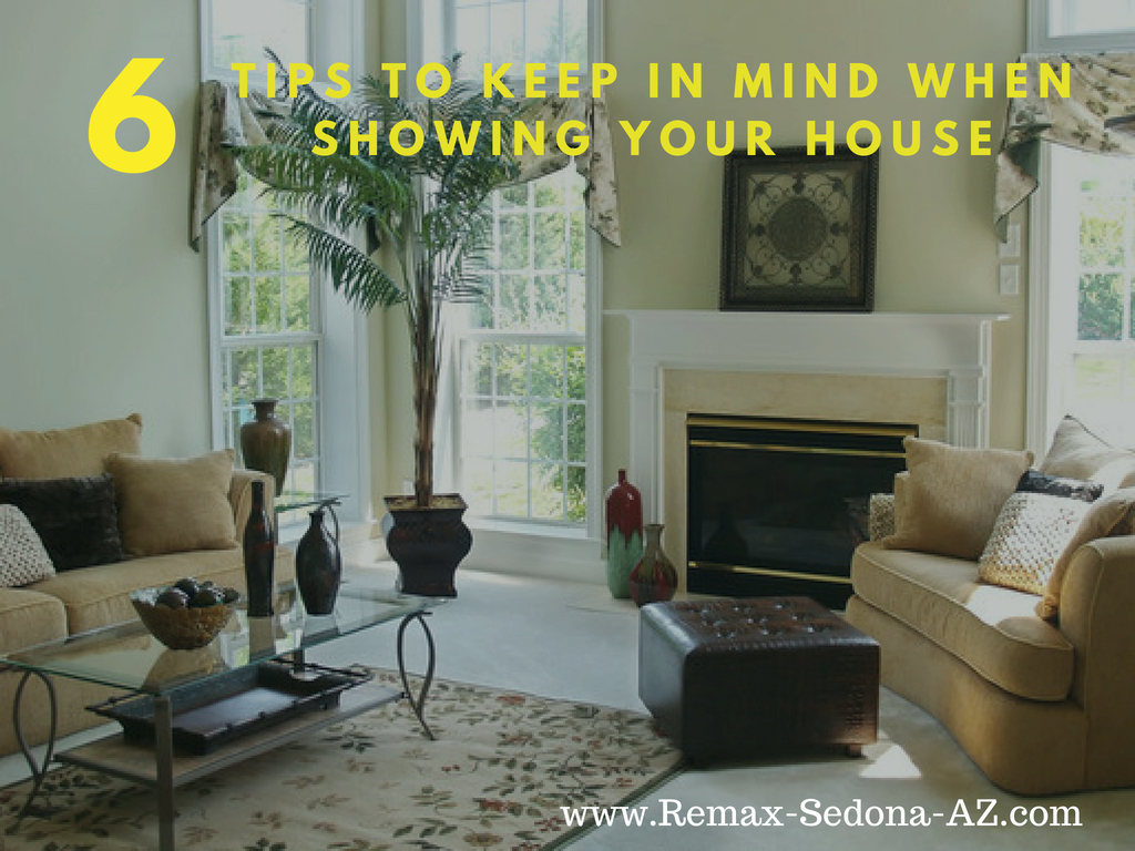 6 Tips for Showing your Sedona House