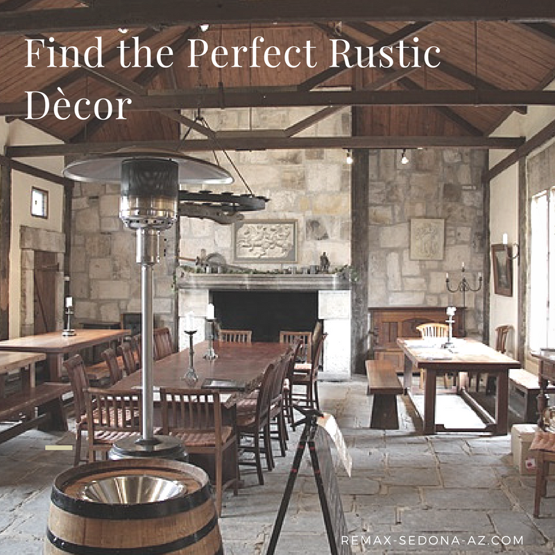 A Rustic Lovers Dream | Rustic Decor in Sedona and Cottonwood