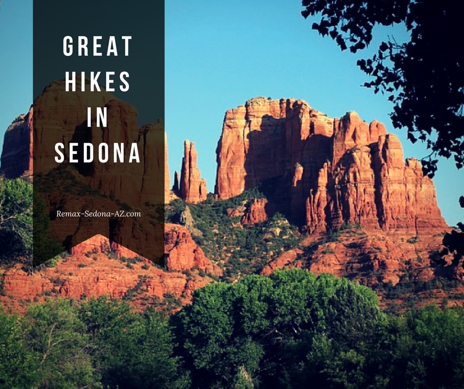 Great hikes and trails in Sedona AZ