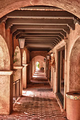 Hallway through the Classic Arches, Sedona