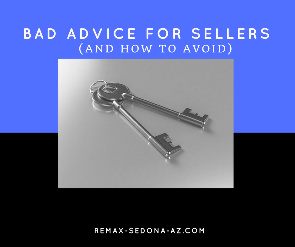 Bad Advice When Selling  Your House (and how to avoid)